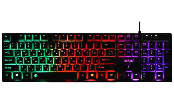 کیبورد بیاند مدل BK-7100 RGB
